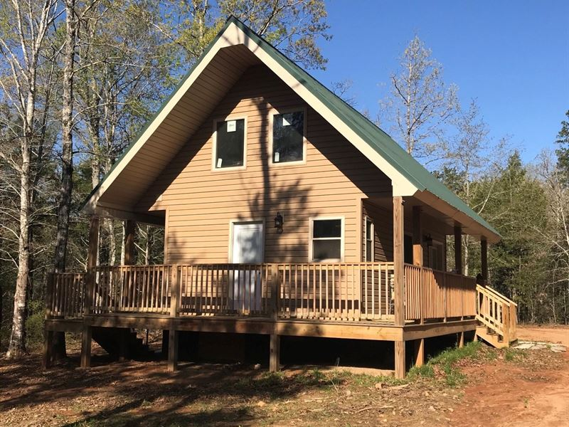 41 Acres With New Secluded Cabin : Ranch for Sale : Union : Union