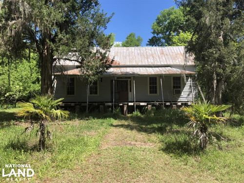 Martin Recreational/Hunting Old Hom : Martin : Allendale County : South Carolina