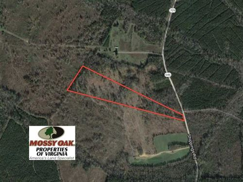 Under Contract, 20 Acres of Prime : McKenney : Dinwiddie County : Virginia