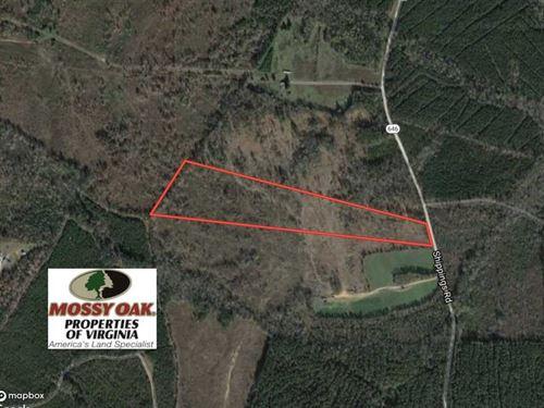 27.5 Acres of Prime Hunting And Re : Dinwiddie : Virginia