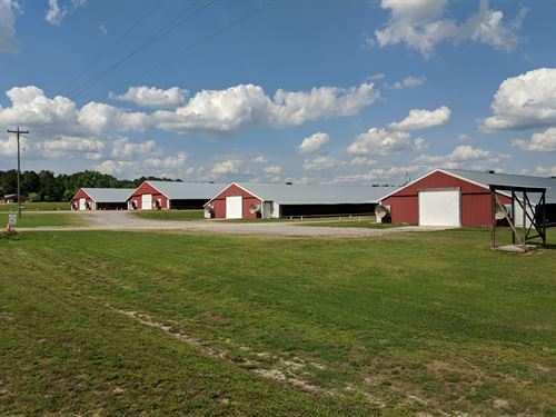4 House Broiler Farm : Brantley : Crenshaw County : Alabama