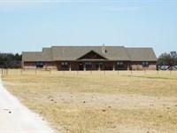 Custom Home, Pond And Acreage : Cleo Springs : Oklahoma County : Oklahoma