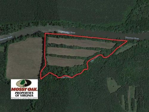 31 Acres of Riverfront Hunting Lan : Halifax : Virginia