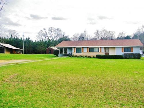 Home & 42 Acres In Southwest Ms : New Hebron : Pike County : Mississippi