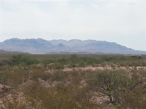 60 Ac, Foreclosure Only $288/Mo : Sierra Blanca : Hudspeth County : Texas