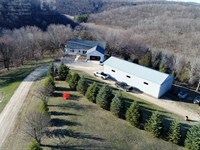 Country Home W/ Small Pond, Pasture : Richland Center : Richland County : Wisconsin