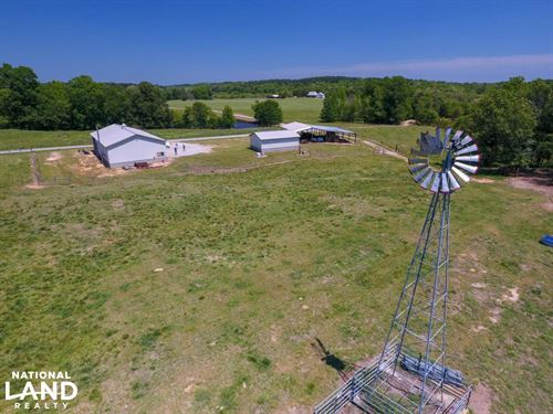 Smith-Heffner Cattle Farm : Clinton : Laurens County : South Carolina