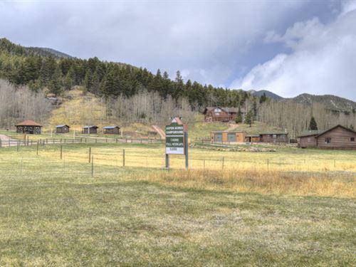Aspen Acres Campground : Rye : Custer County : Colorado