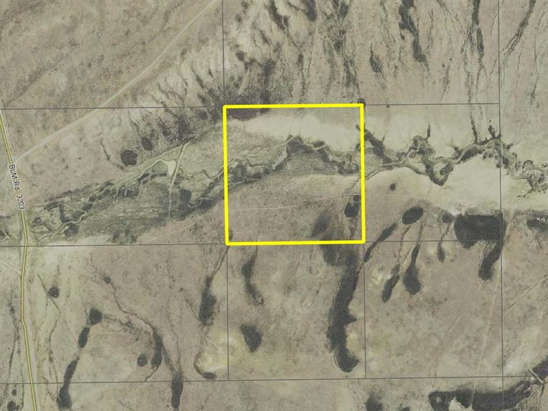 40 Rural Ac, Sweetwater County, Wy : Red Desert Basin : Sweetwater County : Wyoming
