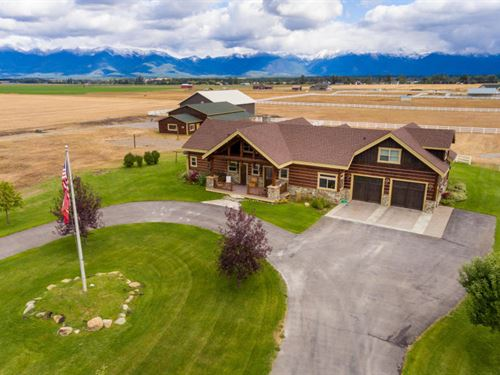 Acreage On Paint Horse : Kalispell : Flathead County : Montana