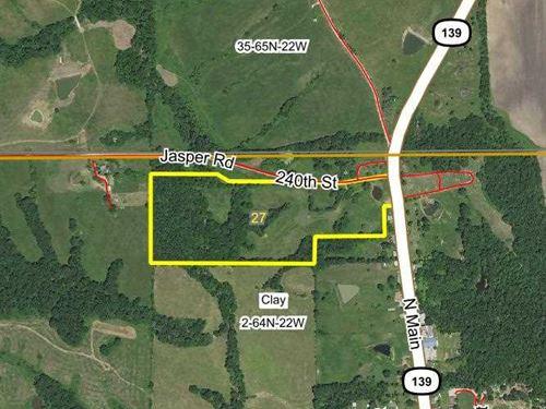 27 Acres M/L, Land For Sale in Sul : Newtown : Sullivan County : Missouri