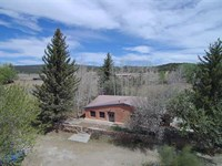 Tranquility on The Mora River : Mora : Mora County : New Mexico