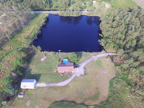 14 Acres On Slades Creek : Scranton : Hyde County : North Carolina