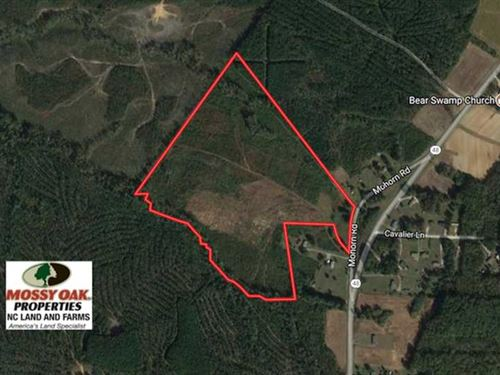 Under Contract, 50.77 Acres of Hu : Littleton : Halifax County : North Carolina