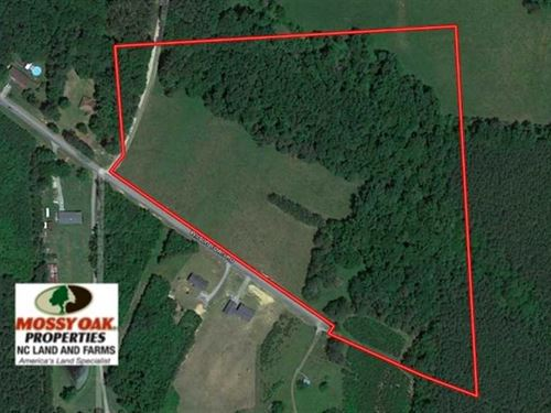 22 Acres of Timber And Pasture Lan : Oxford : Granville County : North Carolina