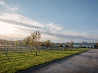 101 Acres Horse Farm, 25 Stall Ba : Russiaville : Howard County : Indiana