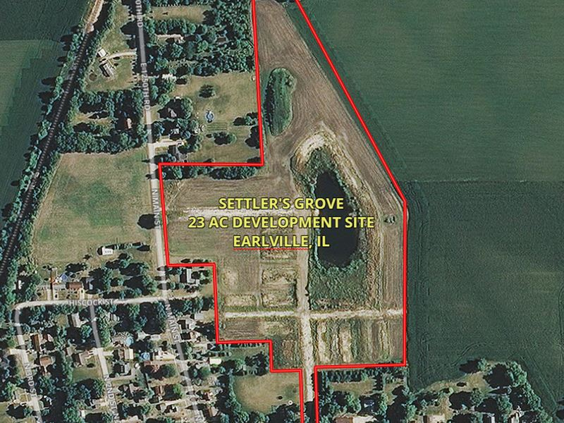 23 Acres Earlville Settler's Grove : Earlville : LaSalle County : Illinois