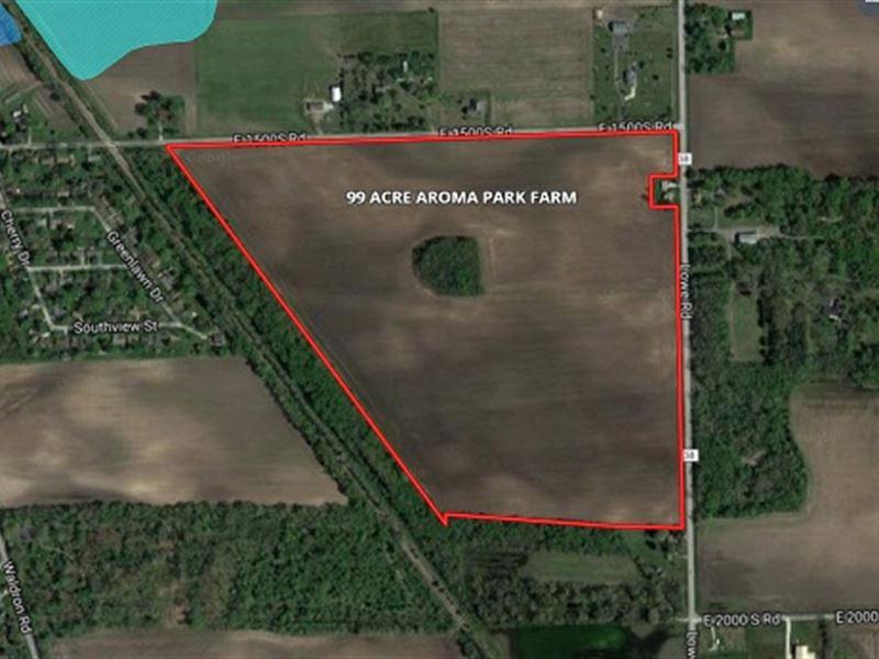 99 Acres Aroma Park Kankakee County Illinois