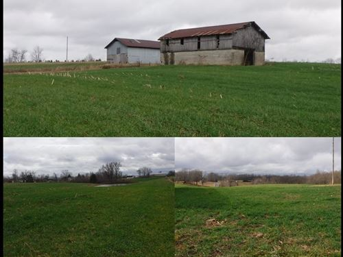45.04 Ac W/ Hm, Pole Barn, 2 Barns : Red Boiling Springs : Clay County : Tennessee