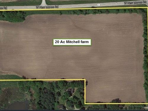 20 Ac Mitchell Farm : Crete : Will County : Illinois