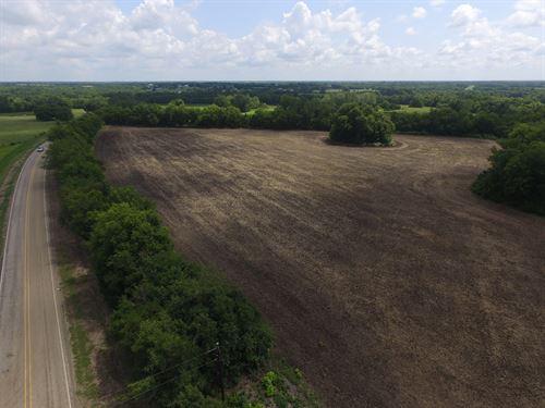 Tillable Farm Land : Roxton : Lamar County : Texas