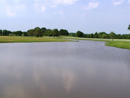 Walnut Hill on The Sabine River : Emory : Rains County : Texas