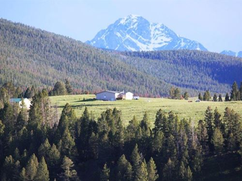 14 Elk Ridge Road : Philipsburg : Granite County : Montana