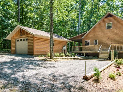25.84 Ac W/Rustic Hm, Barn, Cottage : Gamaliel : Monroe County : Kentucky