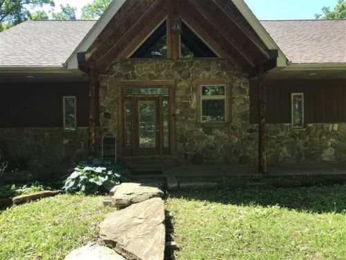 Beautiful Custom Built Home Price : Warsaw : Benton County : Missouri
