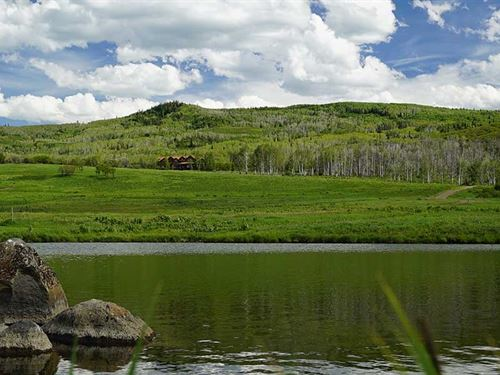 The Upper Ranch At Cross Mountain : Hayden : Routt County : Colorado