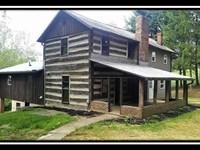Historic Log Cabin In The Woods : Sugar Grove : Fairfield County : Ohio
