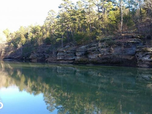 40 Acres West Fork Point Remove Cre : Jerusalem : Conway County : Arkansas