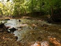 Gum Creek : Roopville : Heard County : Georgia