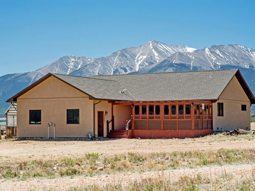 6447830, Very Well Kept Home On 10 : Buena Vista : Chaffee County : Colorado