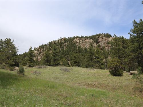 Pinewood Springs Acreage : Lyons : Boulder County : Colorado