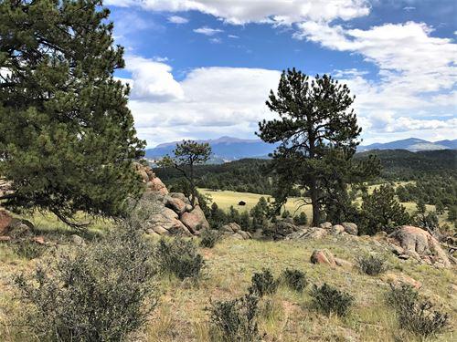 Teller Park Ranch - Parcel 2 : Florissant : Teller County : Colorado