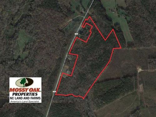 Under Contract, 40 Acres of Timbe : Warrenton : Warren County : North Carolina