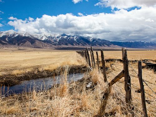 San Luis Creek Ranch : Poncha Springs : Saguache County : Colorado