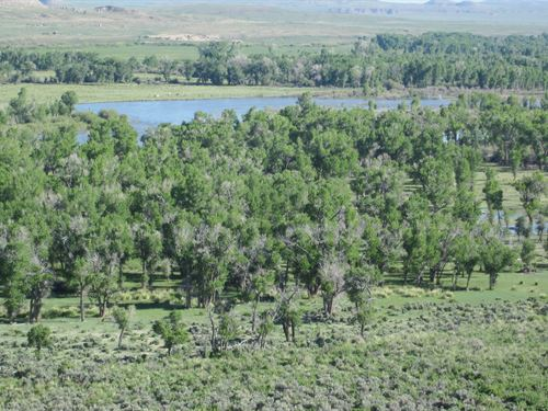 Green River Paradise : Big Piney : Sublette County : Wyoming