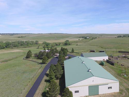 Comanche Creek Horse And Hay Estate : Kiowa : Elbert County : Colorado