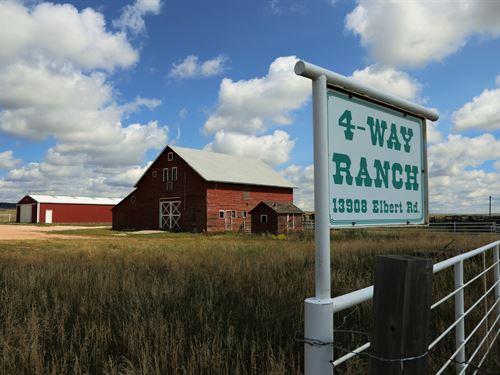 4 Way Ranch : Peyton : El Paso County : Colorado