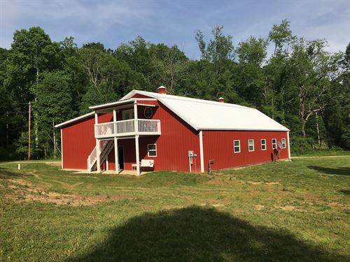 Bogg Rd - 17 Acres : Laurelville : Hocking County : Ohio
