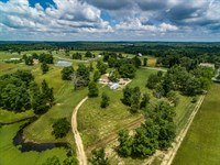 49.90 Ac Farm W/Hm, 50X60 Pole Barn : Crossville : Cumberland County : Tennessee