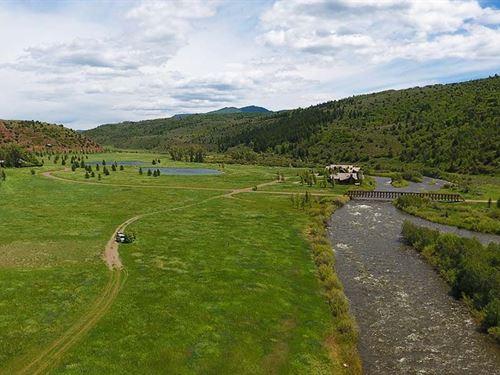 Upper Buckles At Elk Creek Ranch : Meeker : Rio Blanco County : Colorado