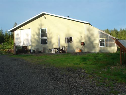 Organic, Sustainable, Mini Farm : Ariel : Cowlitz County : Washington