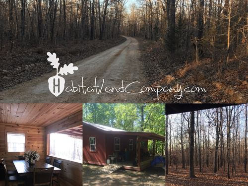 Peebles Bluff Cabin Tract : Smithville : Sharp County : Arkansas