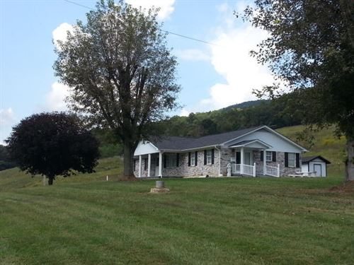 Beautiful Farm With Pond And Views : Sneedville : Hancock County : Tennessee