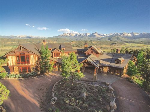 Auction - Luxury Mountain Retreat : Ridgway : Ouray County : Colorado