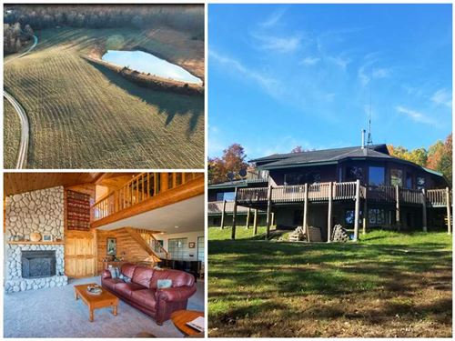 Incredible Home Hidden on 117 Acre : Mountain View : Howell County : Missouri