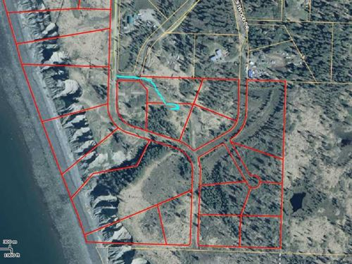 6 Lots Being Sold Together. Fantas : Anchor Point : Kenai Peninsula Borough : Alaska